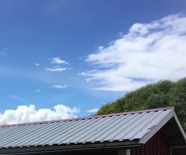 Varaston katon huolto, korjaus ja remontointi